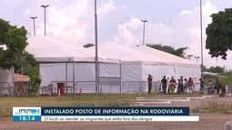 Operação Acolhida instala 'posto de informação' para acolher imigrantes venezuelanos em RR