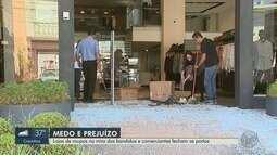 Comerciantes relatam onda de furtos em lojas do Boulevard em Ribeirão Preto