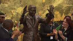 Inaugurada estátua em tamanho real de Nelson Mandela na ONU