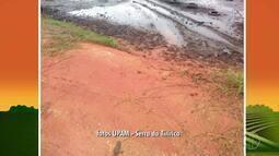 Polícia Ambiental constata aterramento de um pedaço da Lagoa de Saquarema