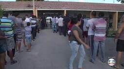 Em Petrolina, eleitores chegam por volta das 6h para votar