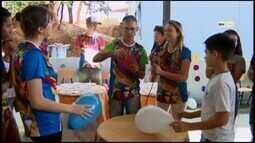 Estudantes participam de gincana de matemática em Divinópolis