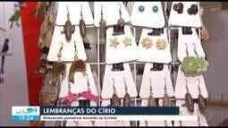 Feira reúne produtos artesanais para quem quer lembranças do Círio no Pará