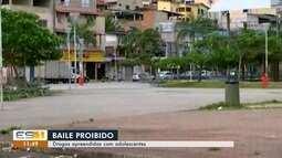 Adolescentes são flagrados vendendo drogas no bairro Itararé, em Vitória