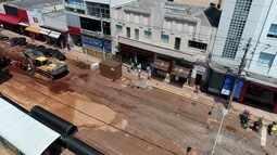 Veja como está o andamento das obras do Reviva Centro, em Campo Grande