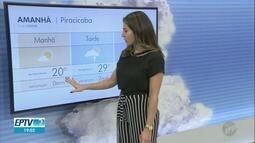 Veja a previsão do tempo em Campinas e região