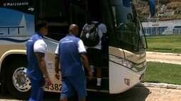 CSA viajou para enfrentar o Coritiba