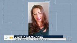 Diarista é encontrada morta dentro de casa, em Goianira; ex-namorado é suspeito