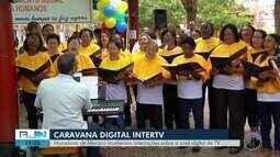 Caravana Digital da Inter TV visita Macuco, no RJ