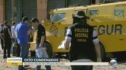 Oito brasileiros são condenados por agir em mega-assalto no Paraguai