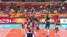 Melhores momentos: Itália 1 x 3 Sérvia pelo Mundial de vôlei feminino