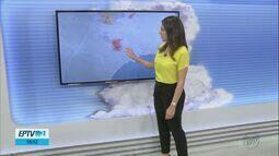 Confira a previsão do tempo para a quinta-feira na região