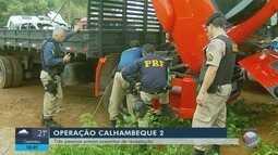 Operação do Ministério Público e Polícia Militar prende três suspeitos de receptação