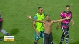 Gol aos 48 minutos do 2º tempo mantém XV de Piracicaba com chances na Copa Paulista