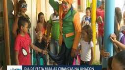 Voluntárias levam dia de alegria para crianças com câncer em Rio Branco