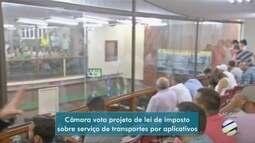 Projeto de imposto sobre serviço de transporte por aplicativos causa confusão na câmara