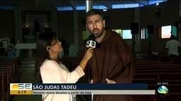 Novena de São Judas Tadeu reúne devotos em Aracaju