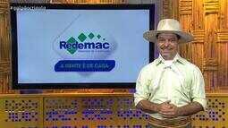 Redemac apresenta materiais para reforma e decoração no 'Galpão Crioulo'