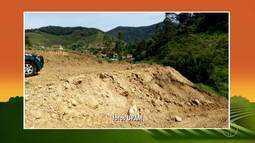 Policiais Ambientais constatam movimentação de terra para nivelamento do solo