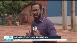 Polícia procura dois jovens que foram levados por supostos policiais em Redenção, no Pará