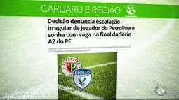 Time do Decisão faz denúncia para Federação Pernambucana de Futebol contra Petrolina
