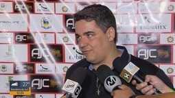 Tuca Guimarães comenta desafio diante do Atlético-GO na Série B