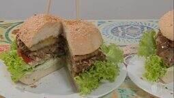 Aprenda a fazer hambúrguer vegano