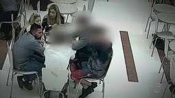Imagens mostram assassino confesso de Daniel coagindo testemunhas, segundo a polícia
