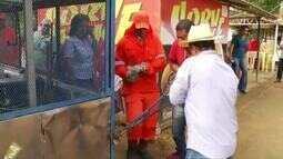 Prefeitura de Ipatinga retira barracas de comerciantes informais do Parque Ipanema