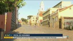 Festa do Rosário movimenta o centro de Curitiba