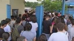 3.300 candidatos disputam primeira etapa do vestibular da Unesp em Sorocaba