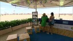 Verão no RJ: ingressos para atrações turísticas são vendidos na orla