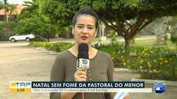 Campanha 'Natal Sem Fome' já arrecadou 6 toneladas de alimentos em Santarém