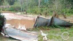 Chuva causa estragos em São Luiz do Paraitinga