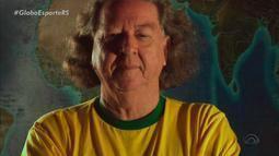Morre Aldyr Schlee, escritor e criador da camisa da seleção brasileira