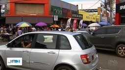 Ruas na região da 44 ficam congestionadas nesta sexta-feira