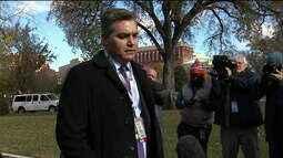 Justiça determina devolução da credencial de Jim Acosta, da CNN