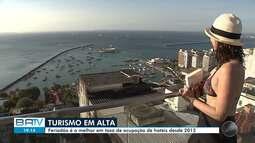 Setor hoteleiro comemora taxa de 90% em ocupação no feriado da Proclamação da República