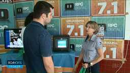 Tenda da RPC tira dúvidas de telespectadores de Umuarama sobre sinal digital