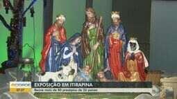 Exposição em Itirapina reúne mais de 80 presépios de 26 países