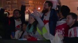 River Plate e Boca Juniors chegam a Madri para a final da Libertadores