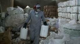 Aumenta número de embalagens de agrotóxicos recolhidas durante campanha