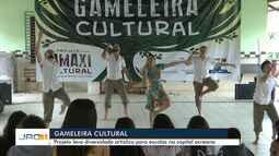 Gameleira cultural leva apresentações artísticas para escolas de Rio Branco