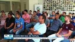 Reunião define novidades para Copa Rio Sul de Futsal 2019