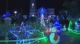 Mirassolândia ganha decoração especial para o Natal