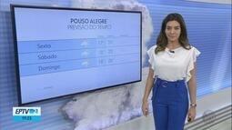 Confira a previsão do tempo para esta sexta-feira (14) no Sul de Minas