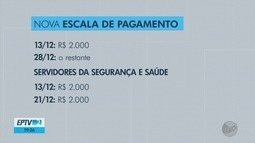 Governo de MG altera datas de pagamentos para servidores da saúde e da segurança