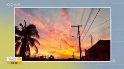 Confira a previsão do tempo desta sexta-feira (14); veja também as fotos do amanhecer