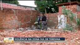 Homem é atingido por golpes de faca, tiros e pedradas na Zona Sul de Teresina