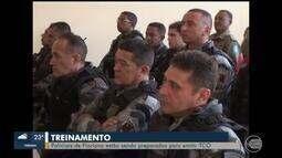 Policiais de Floriano se preparam para emitir TCO